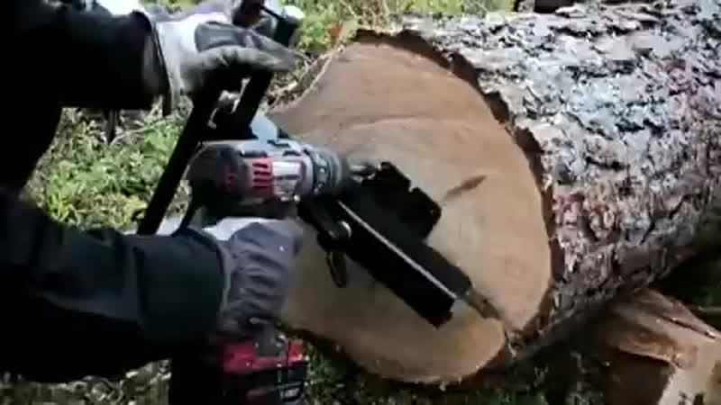 портативная лесопилка