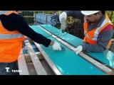 Монтаж фиброцементной плиты на фасаде Литер 6 Квартала Энтузиастов