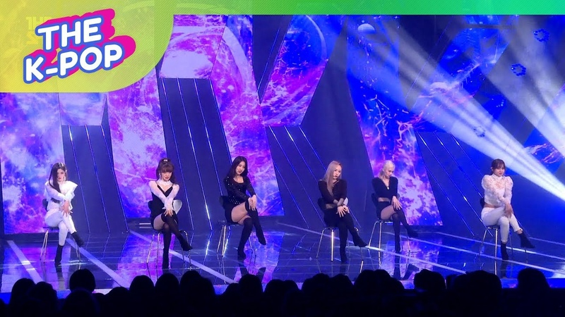 EVERGLOW, Moon (re-edited) [THE SHOW, Fancam, 190326] 60P