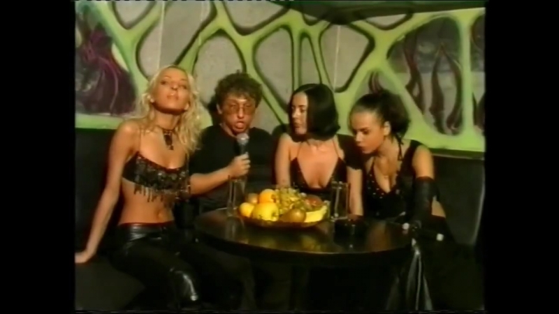 Блестящие - Милый рулевой, За осенью придёт зима; Чао, бамбина (Новогодняя Дискотека Crazy Nice, 2000-2001)