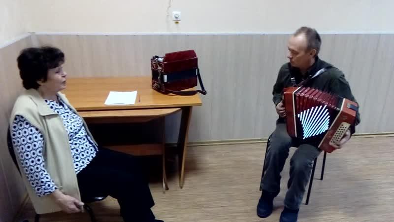 Русская гармонь Исполняют Евгений Золин и Валентина Малышева