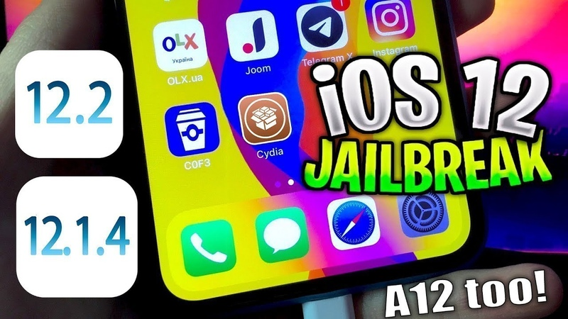Jailbreak iOS 12 - iOS 12.2 - 12.1.4 Updated C0F3 Patch Cydia Substrate!