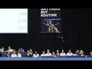 Видео зажигательного выступления гимнастки из США моментально покорила интернет