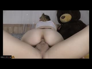 Anastasia knight [ private &  young &  homemade &  anal / whiskered , braids , skirt , ass , cunnilingus , young , real , young