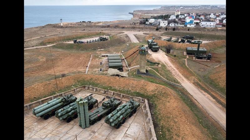 «Ответ на агрессию будет незамедлительным»: новый дивизион С-400 «Триумф» развернули в Кpымy...