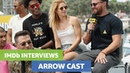 Arrow Cast Gush Over Stephen Amell Tease Batwoman Crossover