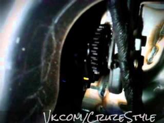 Сторонние звуки при включении зажигания Chevrolet Cruze