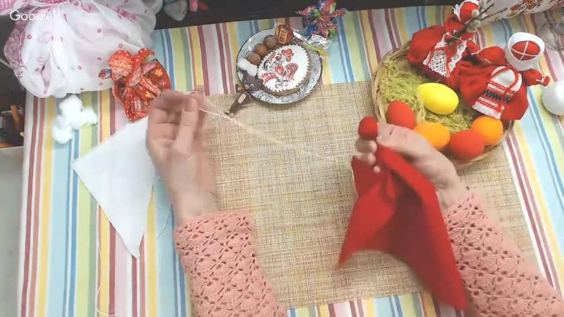 Мастер-класс Кулёма-Матрёна_ Традиционная кукла_ Презентация курса (720p)
