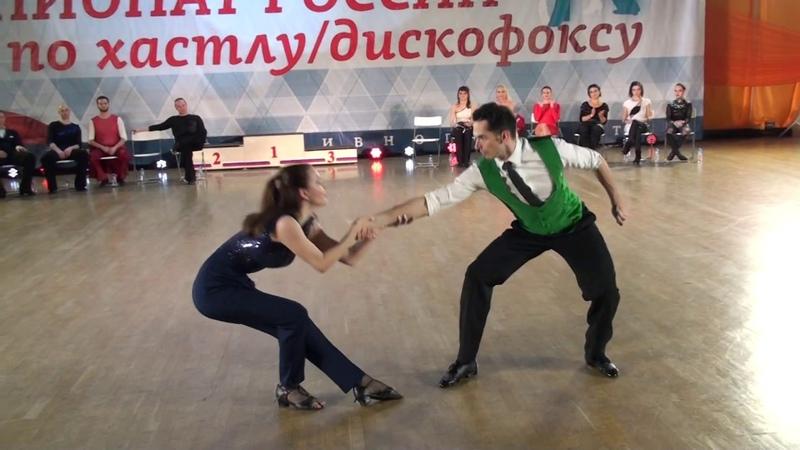 9.12.2018 ЧР Final JJ Champion Fast 1 место Павел Катунин - Ольга Азиатцева