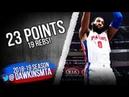 Andre Drummond Full Highlights 2018.11.07 Pistons vs Magic - 23 Pts, 19 Rebs!   FreeDawkins