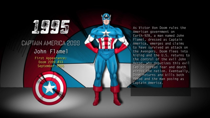 Captain America (1990 to 1999 - Every Captain Americ) - Ever Part 3