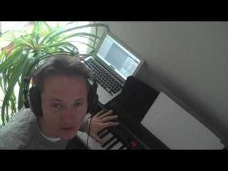 Garageband, iRig and the new Macbook Air (2010)