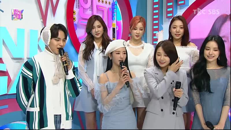 [INTERVIEW] A PINK - WAITING ROOM (19О113 SBS INKIGAYO)