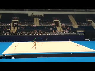 Дарья Трубникова - лента (многоборье) // Тестовые соревнования Европейских Игр 2019, Минск