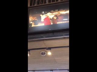 """Jay park """"all i wanna do k"""" ft hoody and loco choreography mv, was being played at mcdonalds in times square, new york"""