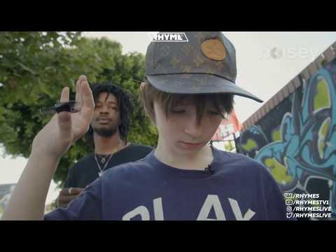 Matt OX 12 летний рэпер со спиннером переведено и озвучено
