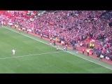 Lo Lo Lo Lo Lo Lo Radamel Falcao Chant Stretford End! Radamel Falcao debut substitution vs QPR