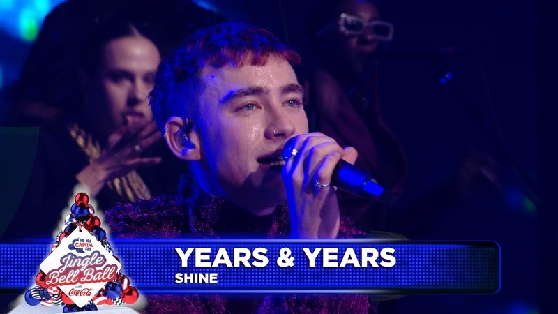 Years Years - 'Shine' (Live at Capital's Jingle Bell Ball 2018)