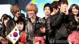101202 Fancam - SHINee Taemin cute interaction with a little girl @CK Song Festival