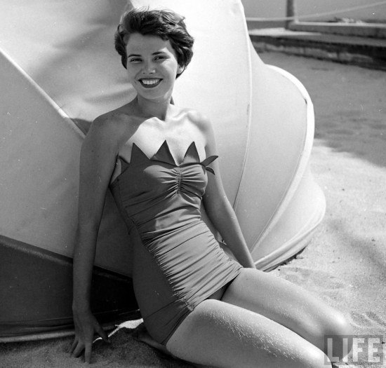 Пляжная мода 50-х годов