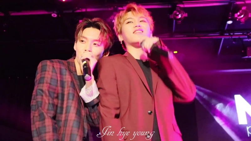 FANCAM • THE STAGES: FOR FANS • У Джинён — crush on you • 180707