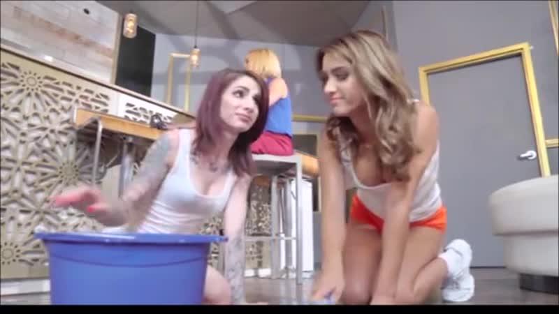 Lesbian Doctor Seduces Kisses Reporter