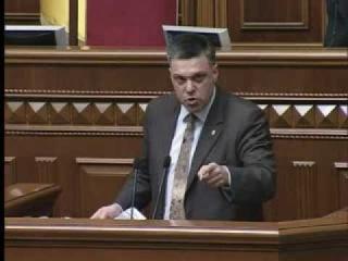 Виступ Олега Тягнибока на засіданні парламенту 5.11.2013
