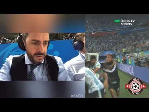 (Relator Emocionado Pablo Giralt) Nigeria 1 Vs Argentina 2