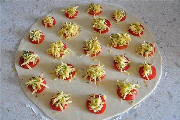 Приготовить помидоры в тесте