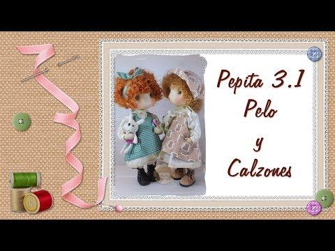 Tutorial Pepita 3 1 Pelo y calzones Pepita 3 1 tutorial Hair and shorts