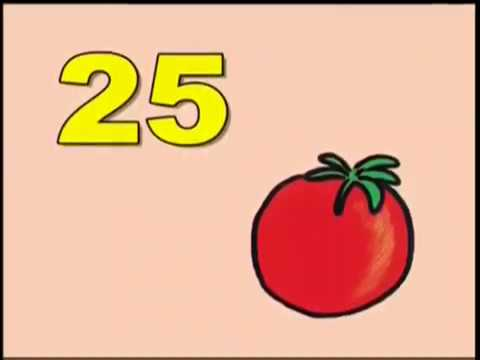 Muzzy Vocabulary English. Fruit and vegetables