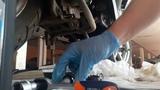 Замена моторного масла на скутере SYM ORBIT 50 (4 тактный двигатель)