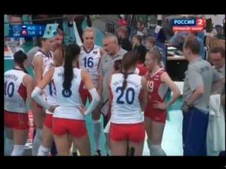 Чемпионат Европы по волейболу 2013, Германия и Швейцария, четвертьфинал, Россия-Турция, 3-0, 1 место