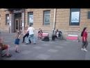 Виолончель, скрипка, Лёня, Катя, Канал Грибоедова, 22.05.18