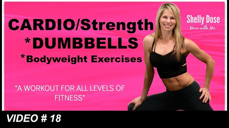 Cardio Strength Full Length Home Workout ALL LEVELS 40 Min Low Impact