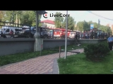 BMW сбила людей на тротуаре после ДТП в Новой Москве