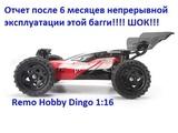 Remo hobby Dingo (Отчет за пол года жестокой, ежедневной эксплуатации).