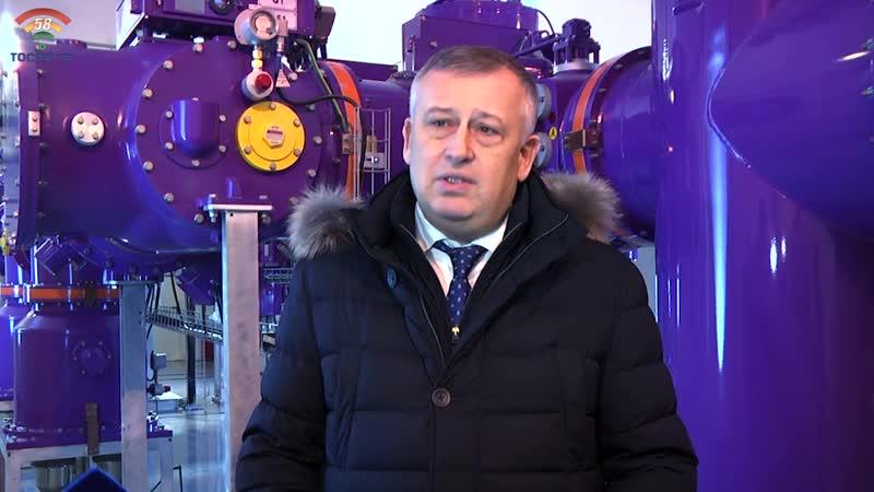 В Федоровском губернатор Ленобласти А.Дрозденко открыл новые очистные сооружения и электроподстанцию