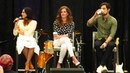 Lana Parrilla, Rebecca Mader and Andrew J. West OUAT Orlando 2018 Gold Panel - Part 2.