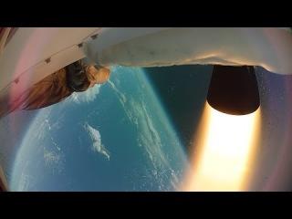 Испытания сверхзвуковой «летающей тарелки»