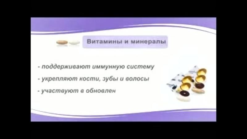 Wellness by Oriflame- витамины и минералы
