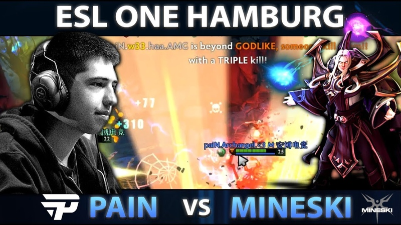 You Know What Will Happen When Pain Picks Invoker for w33 - Pain vs Mineski - ESL ONE Hamburg Dota 2