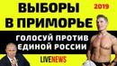 Выборы в Приморье Голосуем против Единой России
