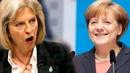 Ангела Меркель демонстративно унизила Терезу Мэй, которую собираются отправить в отставку