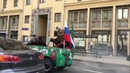 Медведь на улицах Москвы ЧМ по футболу 2018