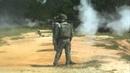 Замедленная съемка выстрела из РПГ 7