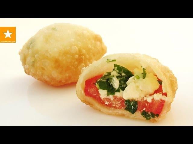 Пирожки Бомбочки с самой вкусной начинкой! Рецепт без яиц и дрожжей от Мармеладной Лисицы