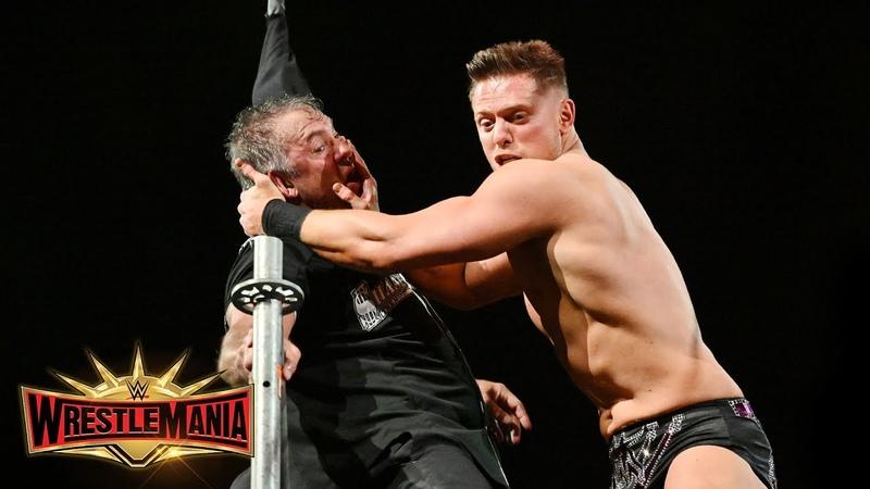 [BMBA] The Miz mercilessly assaults Shane McMahon for attacking Miz's dad: WrestleMania 35 (WWE Network)