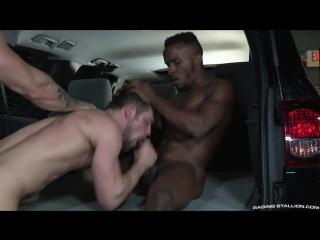 RagingStallion - Rideshare - Pheonix Fellington, Austin Wolf  Kurtis Wolfe (HD)