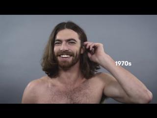 Мужские прически за 100 лет